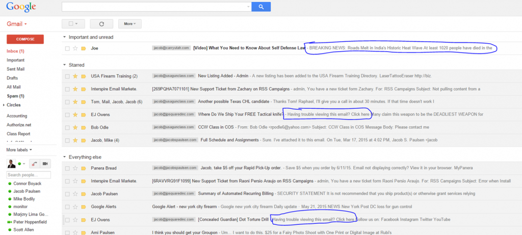 second email subject line